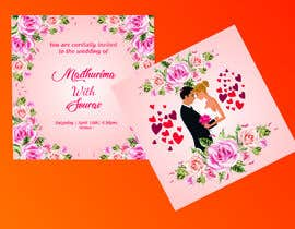 #30 for Design a complete wedding Card by Madhu42