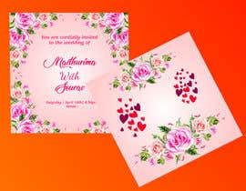 #54 for Design a complete wedding Card by Madhu42