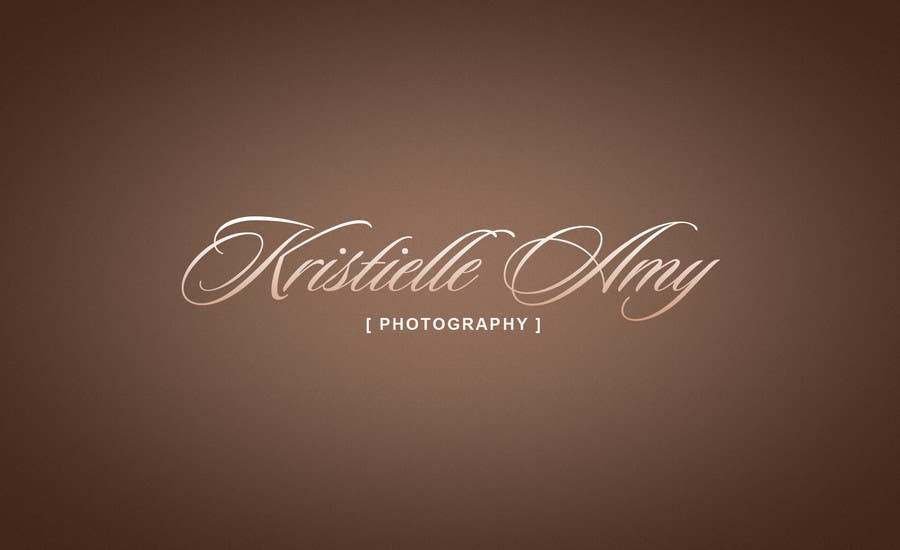 #134 for Logo Design for Kristielle Amy Photography by theDesignerz