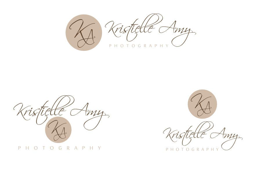 #104 for Logo Design for Kristielle Amy Photography by commharm