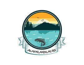 #61 untuk Logo Desing Alpenlandlachs oleh ananyak2020