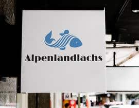 #45 untuk Logo Desing Alpenlandlachs oleh designscamp