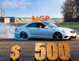 #54 for Download this https://we.tl/t-ornOPQm08w and edit it. Add the Text: MGP + $500. The word MGP should be placed on the roof in 3D and the Word $500 half tilted based on the car in 3D.  It should look realistic. Finally size 3500 x 3500 pixel. Thank you af protech786
