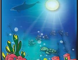 #24 для Cartoon Mermaid Scene от ashvinirudrake13