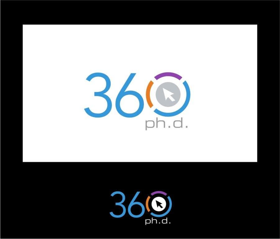 Kilpailutyö #30 kilpailussa Logo Design for 360 ph.d. application