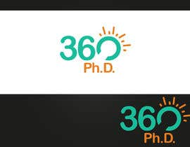 #74 untuk Logo Design for 360 ph.d. application oleh rashedhannan