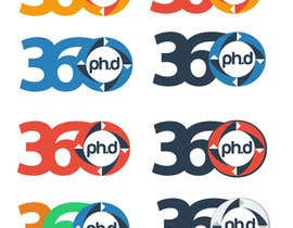 #37 para Logo Design for 360 ph.d. application por YogNel
