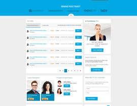 nº 27 pour Design a Job Board WordPress Themes mockup par nilsoft123