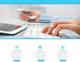 nº 33 pour Design a Job Board WordPress Themes mockup par trinity0