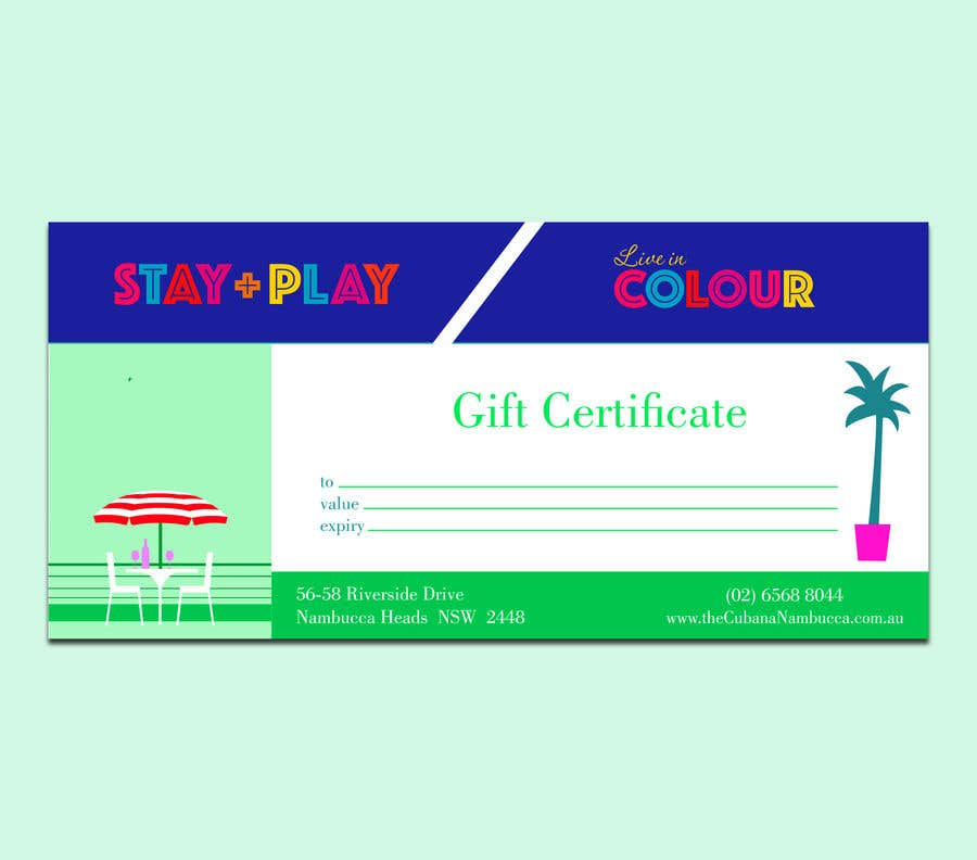 Конкурсная заявка №                                        41                                      для                                         Create Gift Certificate