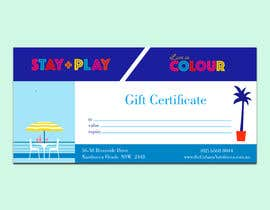 #42 for Create Gift Certificate by luphy