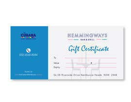 #19 for Create Gift Certificate by tayyabaislam15