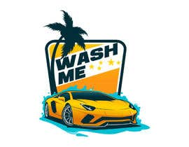 #241 for Car wash app Name and Logo by AbouZone