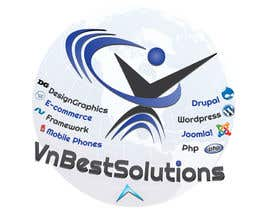 nº 23 pour Logo Design for VnBestSolutions par krizdeocampo0913