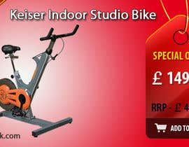 #16 untuk Banner Ad Design for Gym Equipment Supplier oleh tanars
