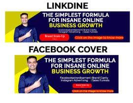 #125 for Build Facebook & linkedin cover image by shankardhar125
