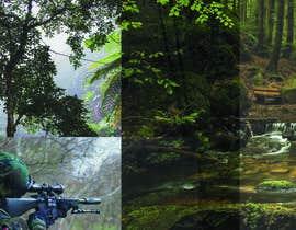 """nº 13 pour visuelle """"Séjour d'initiation à la chasse en milieu amazonien"""" par Fikir19"""