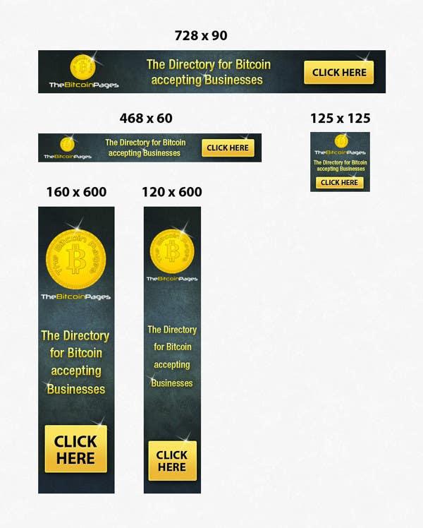 Penyertaan Peraduan #10 untuk Banner Ad Design for TheBitcoinPages