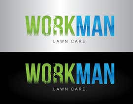 "nº 77 pour Logo Design for ""Workman Lawn Care par GeorgeOrf"