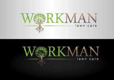 "#87 for Logo Design for ""Workman Lawn Care by GeorgeOrf"