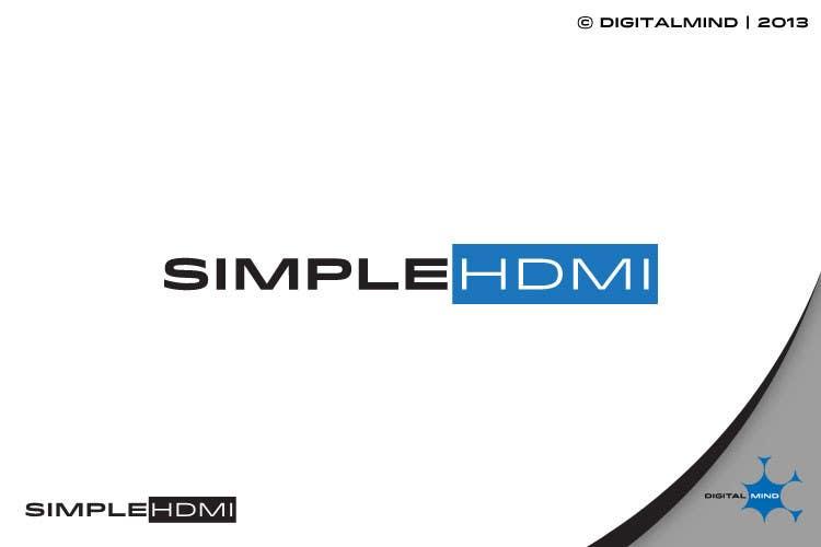 Kilpailutyö #                                        13                                      kilpailussa                                         Logo Design Simple HDMI
