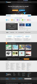 #738 for Freelancer.com contest! Design our Homepage! by JustLogoz