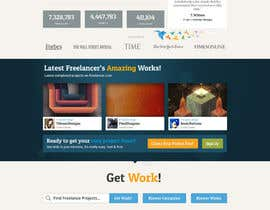 #568 para Freelancer.com contest! Design our Homepage! por dmoldesign