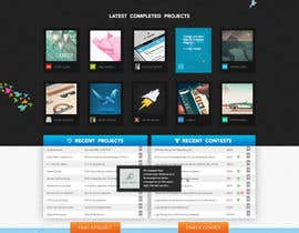 #579 para Freelancer.com contest! Design our Homepage! de MadebyPat