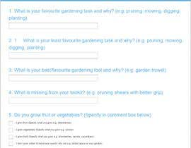 #41 pentru Garden tool survey de către rubelahmad10