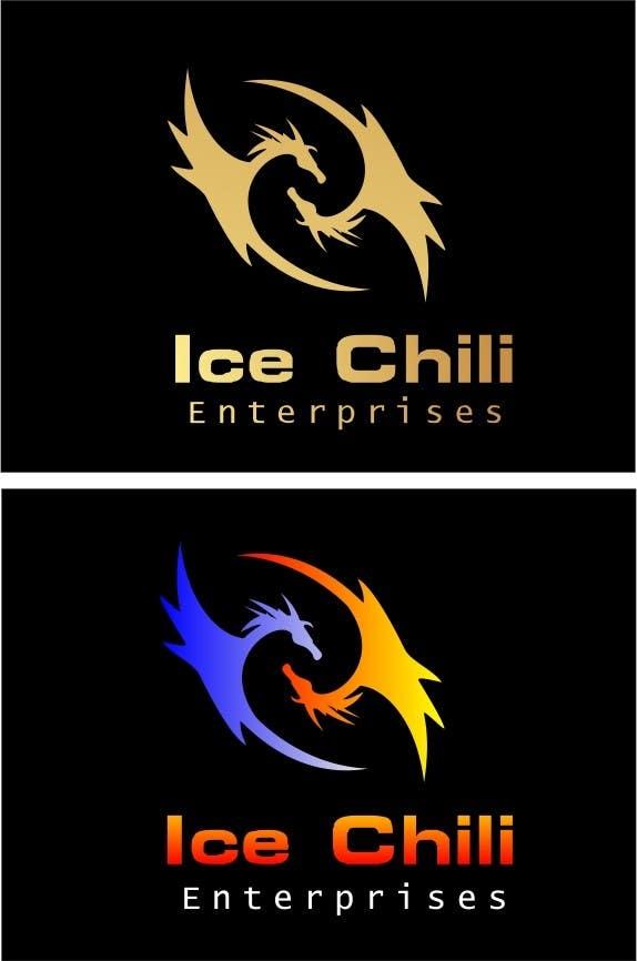 Penyertaan Peraduan #31 untuk Logo Design, Letterhead & Business Card for Ice Chili Enterprises