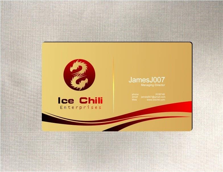Penyertaan Peraduan #40 untuk Logo Design, Letterhead & Business Card for Ice Chili Enterprises