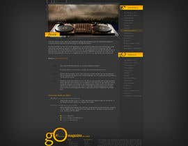 #4 para Website Design for GO Magazine por Wecraft