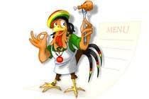 Graphic Design Entri Kontes #46 untuk RASTA CHICKEN AKA MR. JERK!!!