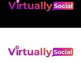 Nro 95 kilpailuun Logo for Social Media Agency käyttäjältä aminnaem13