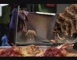 #11 для 5 second video ----- VFX --------------Film--------------Cinema  ---------- Add Monster (eating fingers) от NHinter