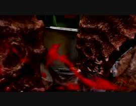 #16 для 5 second video ----- VFX --------------Film--------------Cinema  ---------- Add Monster (eating fingers) от stephenpostrero