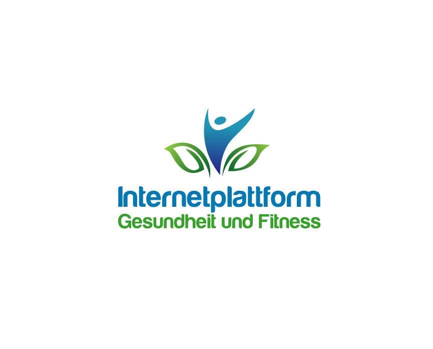 Kilpailutyö #                                        5                                      kilpailussa                                         Logo Design for Internetplattform Gesundheit und Fitness