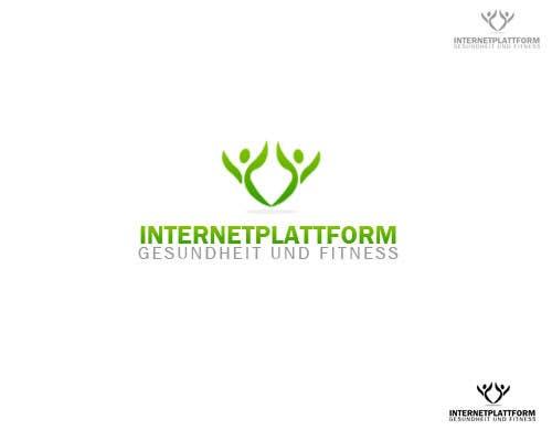 Kilpailutyö #                                        14                                      kilpailussa                                         Logo Design for Internetplattform Gesundheit und Fitness