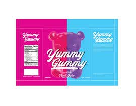 #72 for Create a design for the packaging - Gummy Bear Candy package design by eling88