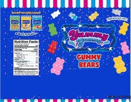 #62 for Create a design for the packaging - Gummy Bear Candy package design by Nomi794