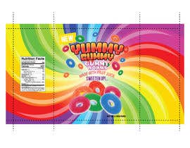 #47 for Create a design for the packaging - Gummy Bear Candy package design by jimlover007