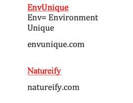 #2 for Need a name for Eco friendly brand by Naglaadawoud