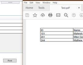 #2 para C# wpf export a datagridview content to pdf de samandapperuma