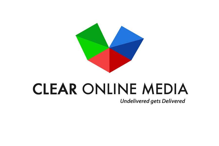 Конкурсная заявка №                                        10                                      для                                         Logo Design for CLEAR ONLINE MEDIA