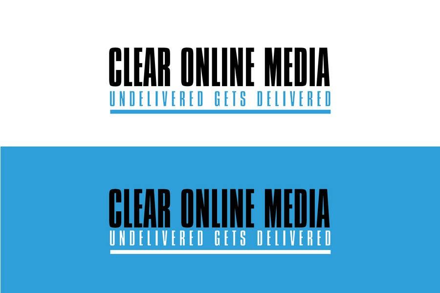 Конкурсная заявка №                                        33                                      для                                         Logo Design for CLEAR ONLINE MEDIA
