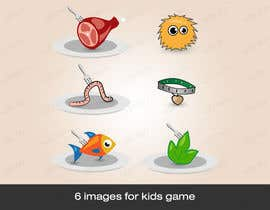 dirav tarafından Design 7 icons/images for kids app/game, extended için no 3