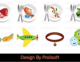 #4 untuk Design 7 icons/images for kids app/game, extended oleh ProliSoft