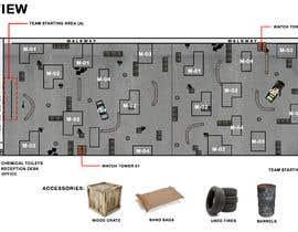 #17 для 3D Design of airsoft / laser tag indoor arena layout от robmendz08