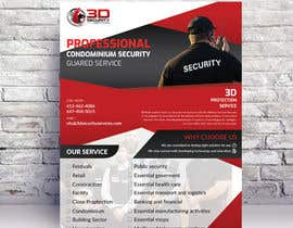 #155 for Flyer for Security Company by Frmamun