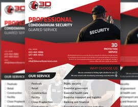 #156 for Flyer for Security Company by Frmamun